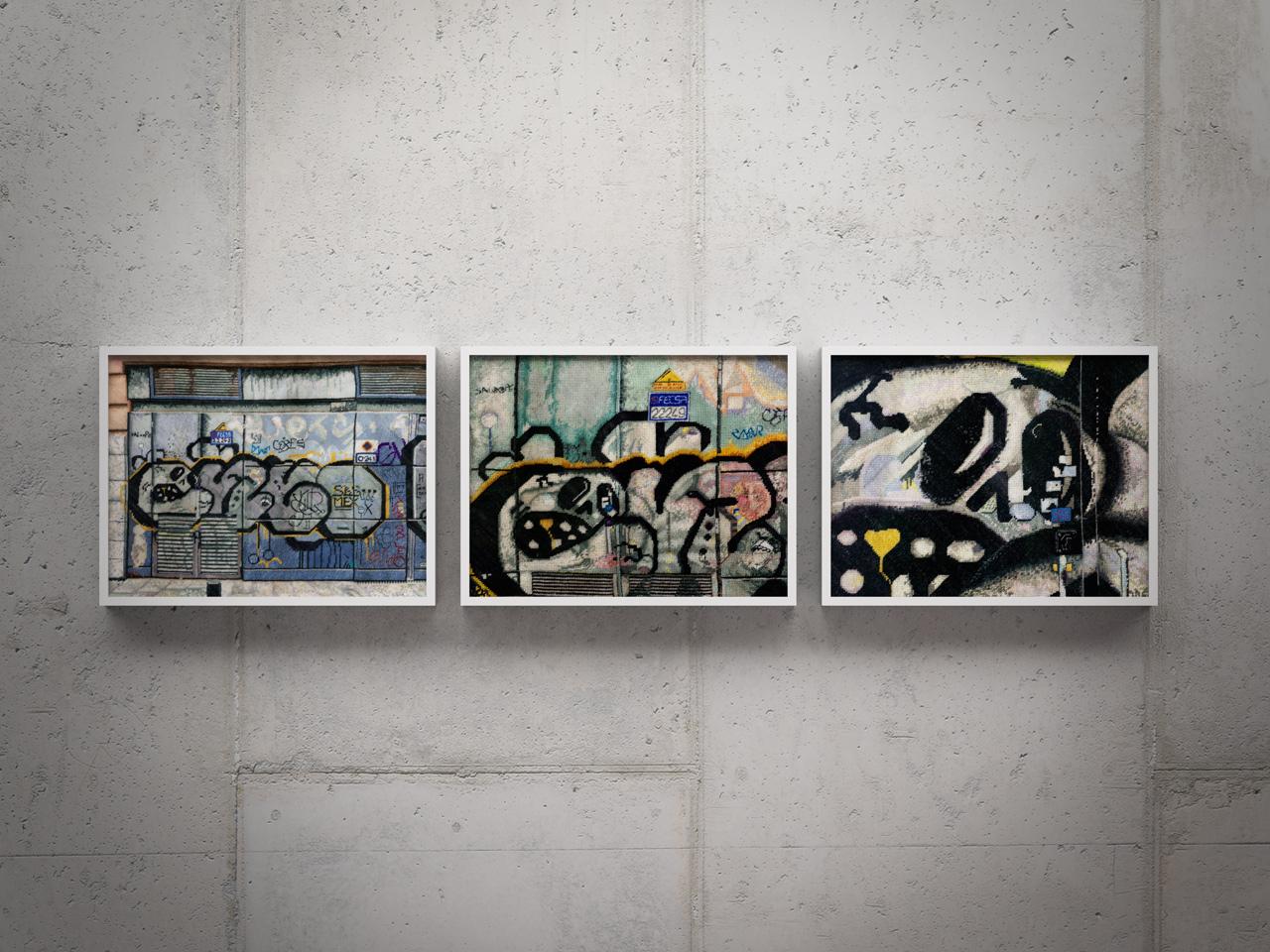 Barcelona 1 – triptych